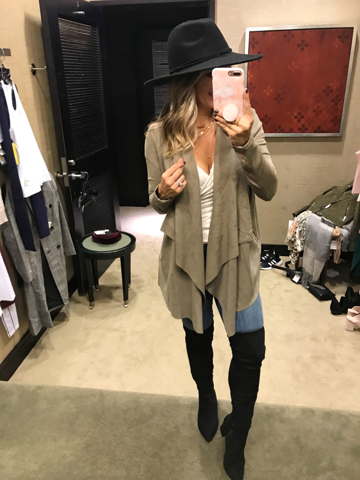 Nordstrom Anniversary Sale try-on draped jacket