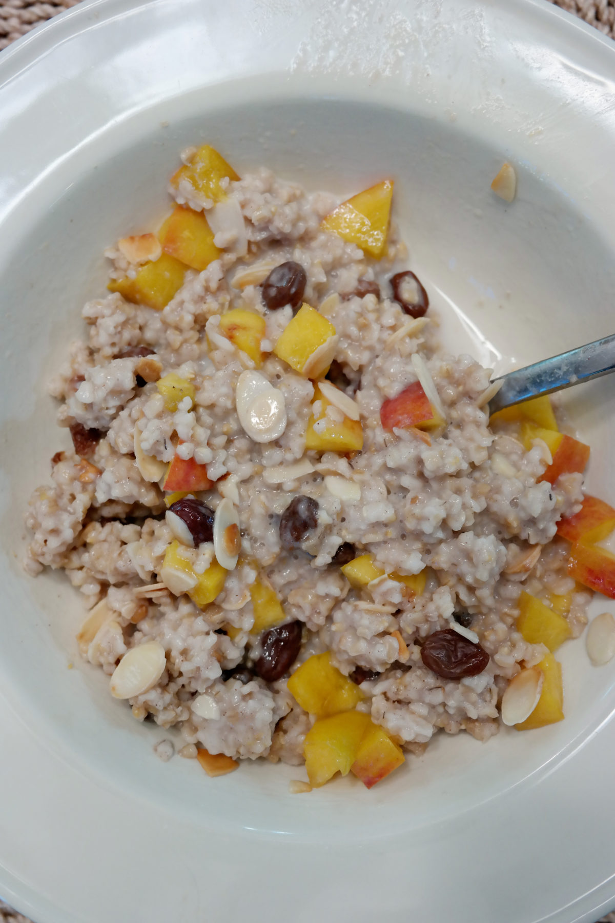 what i eat in a week oatmeal
