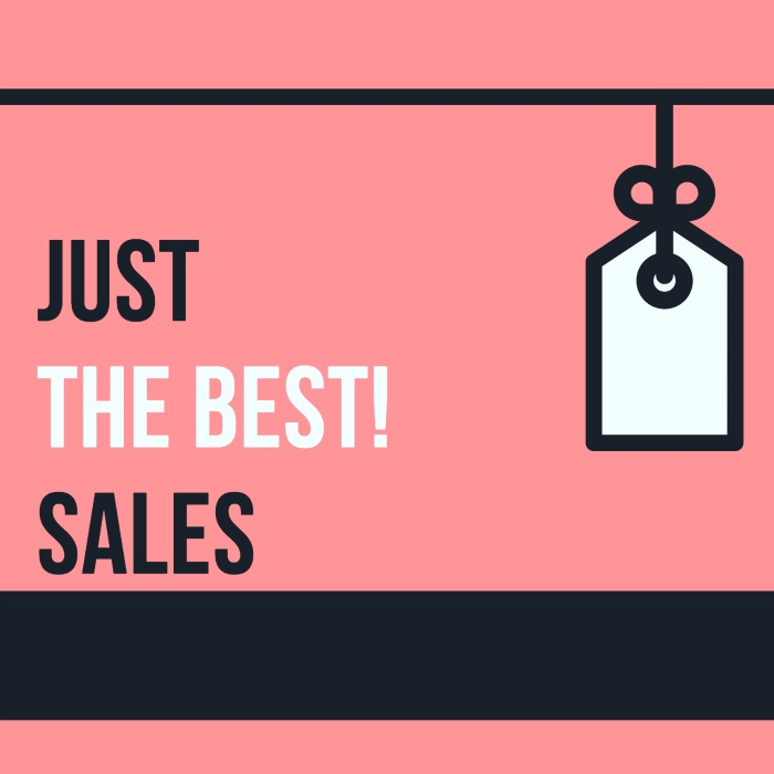 Just (the best) Sales!