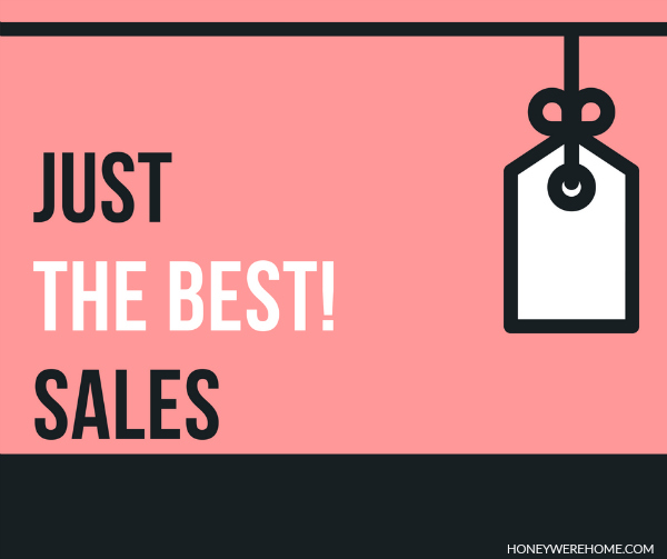 Just (the best) Sales