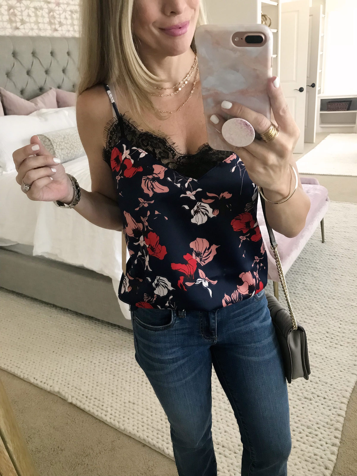 Nordstrom Anniversary Sale last chance floral camisole