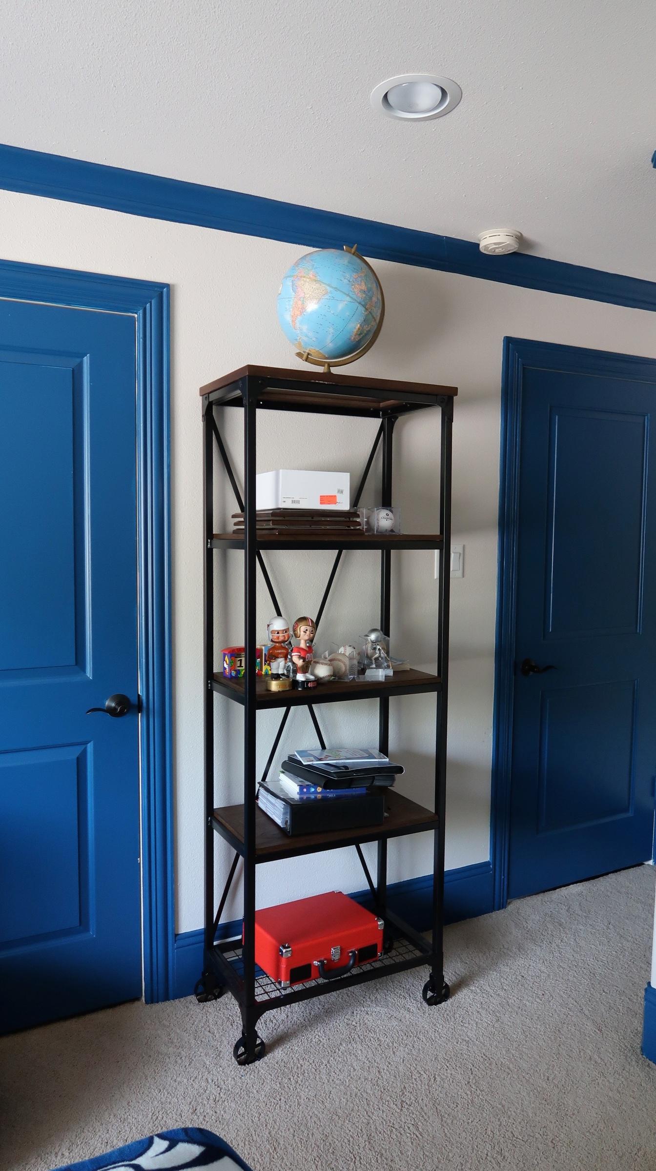 Rustic Modern Bookshelf