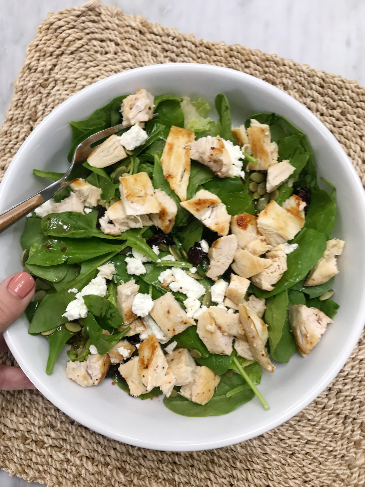 How to Meal Prep for the Week chicken salad recipe