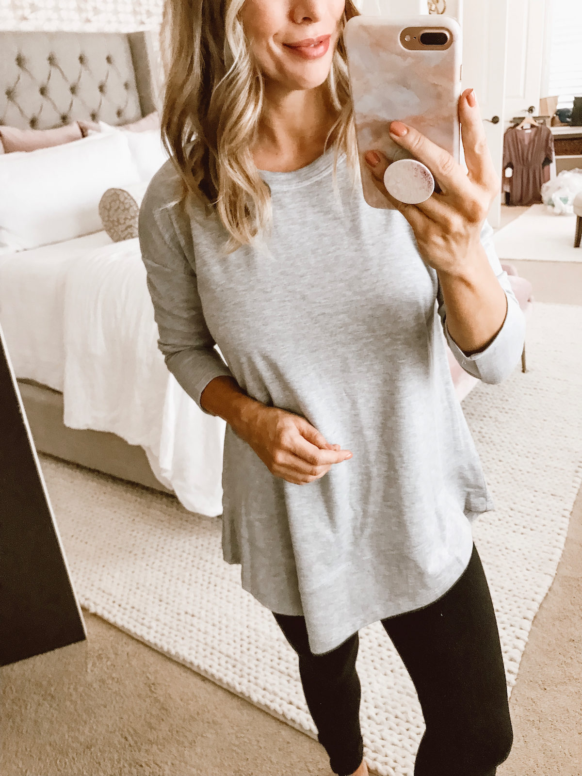 Comfy fitness outfit