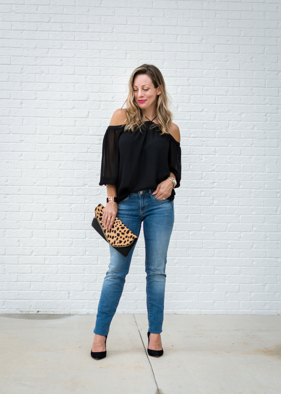 how to wear boyfriend jeans date night