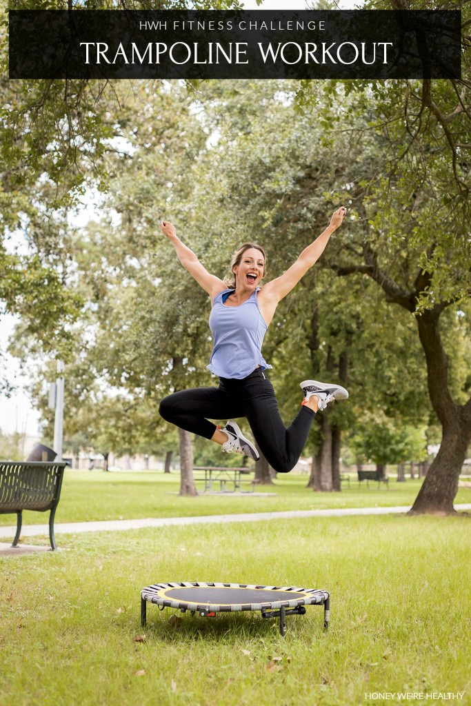 Trampoline Workout at home FREE Printable