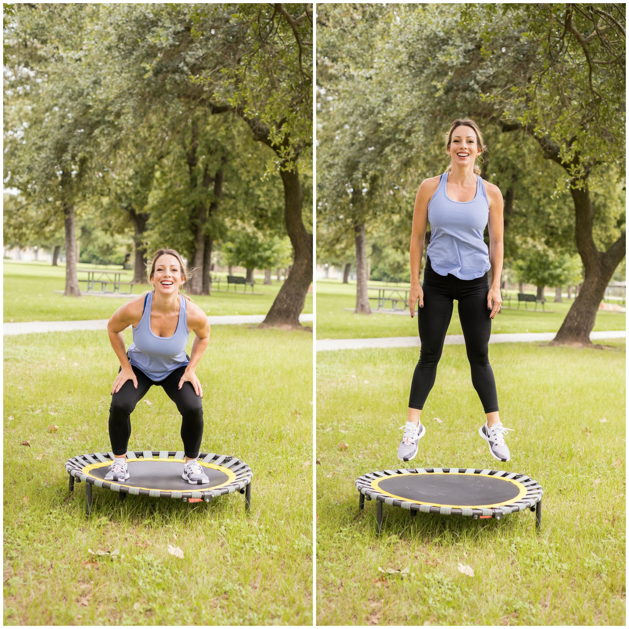 trampoline workout at home