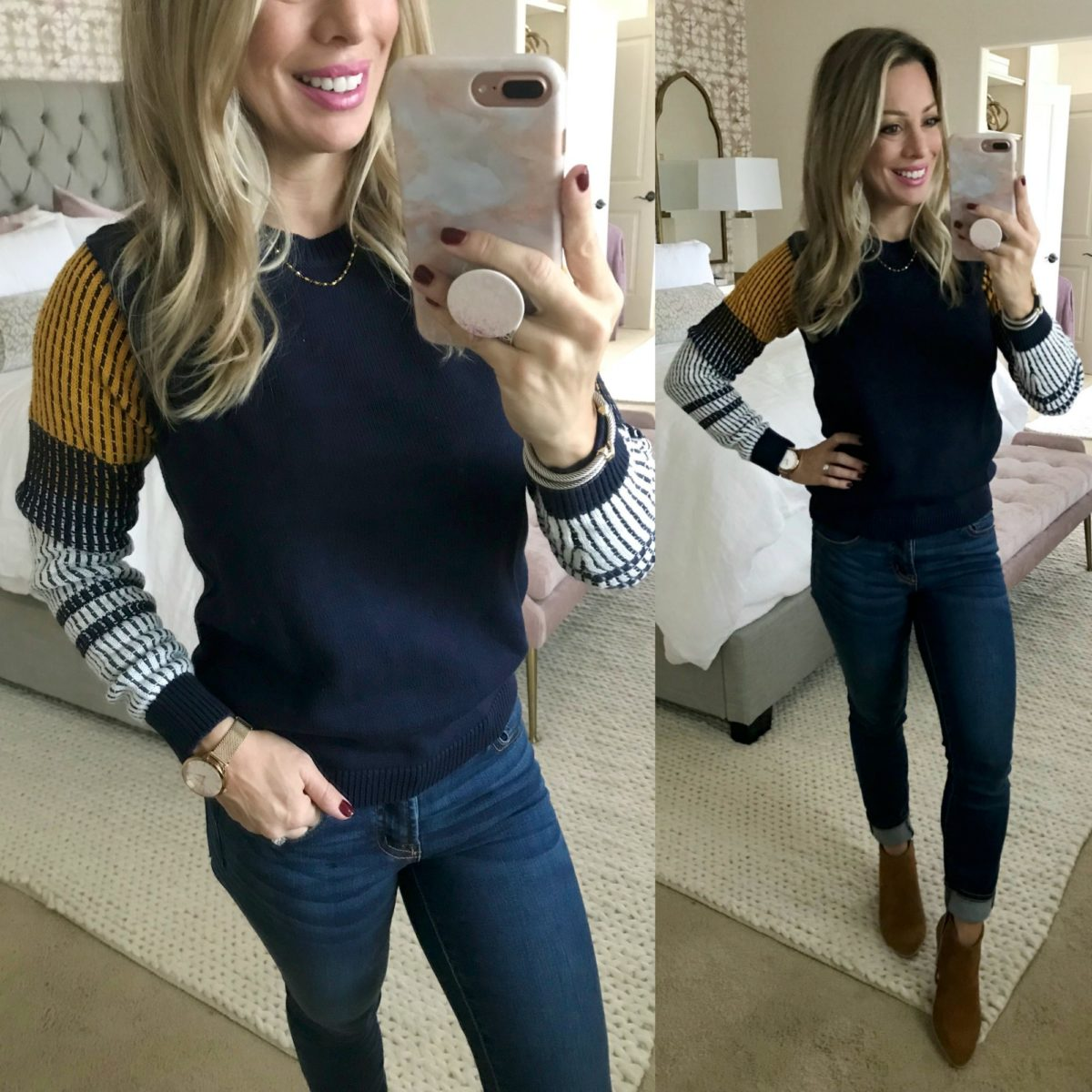 Amazon Fashion Haul Cable & Stitch sweater