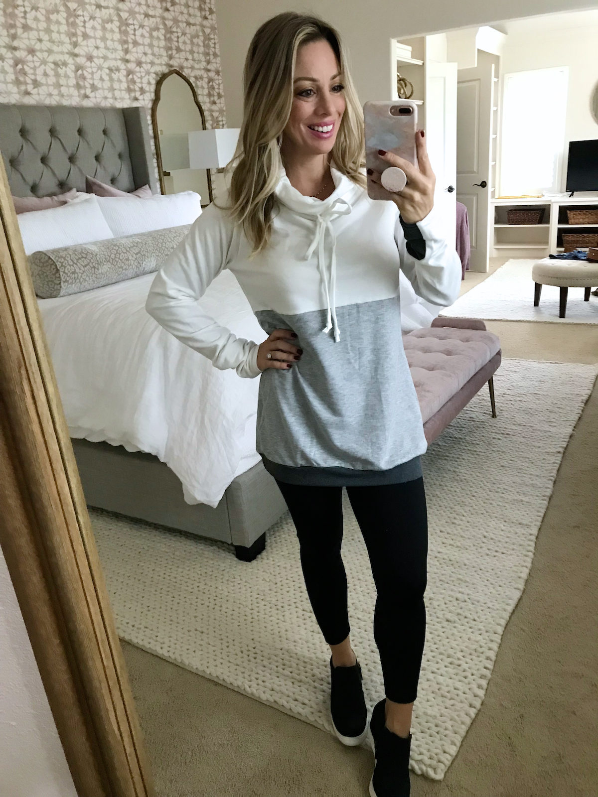 Amazon Fashion Prime Day Haul - cozy pullover