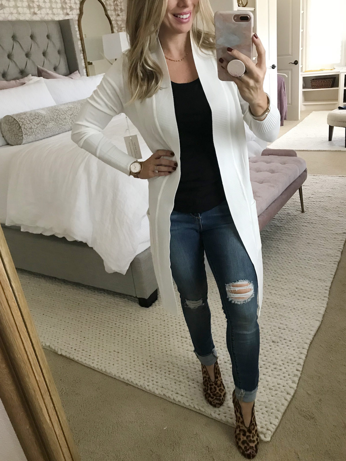 Amazon Fashion Haul long duster cardigan
