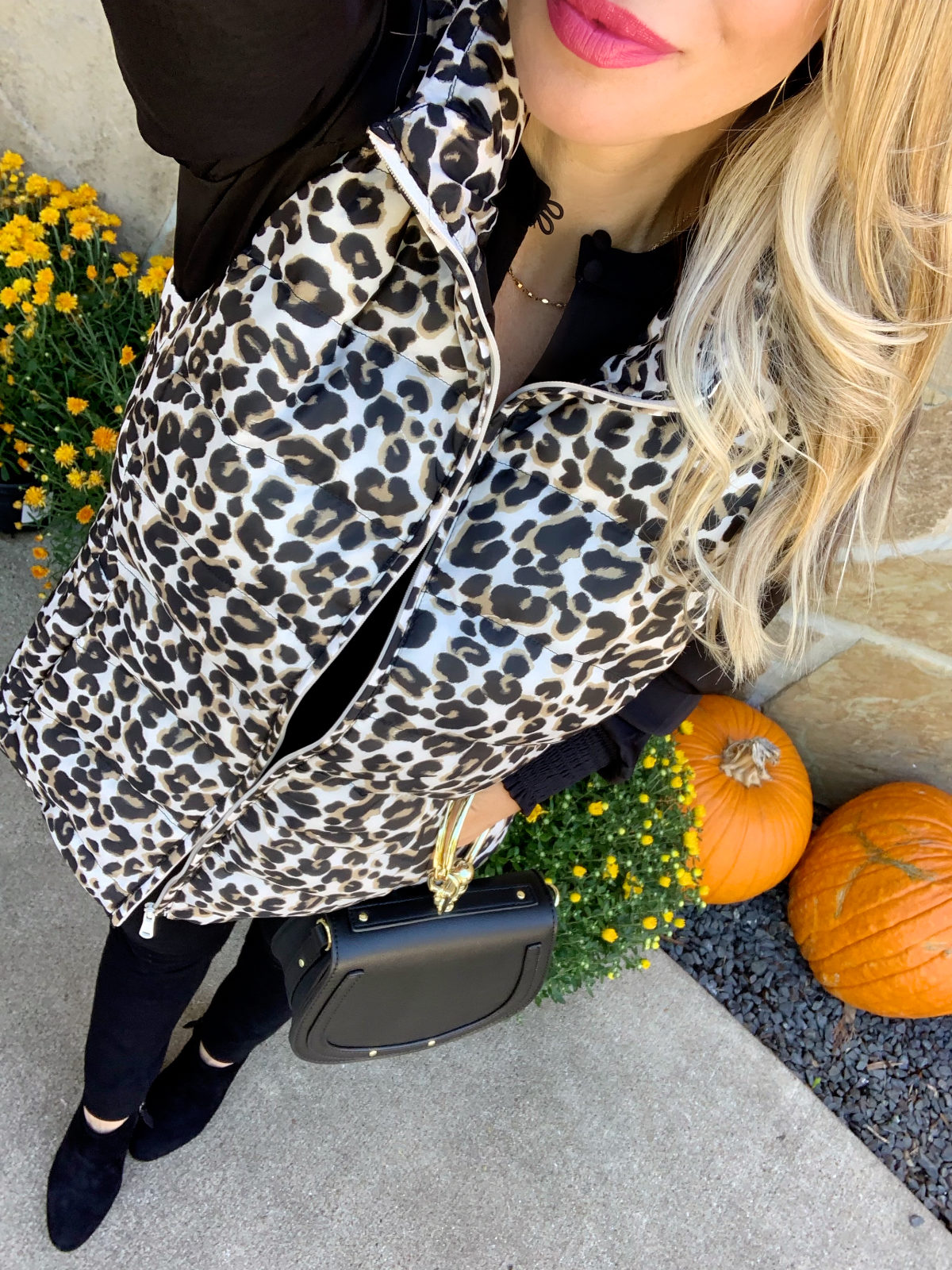 Leopard Puffy Vest (1)