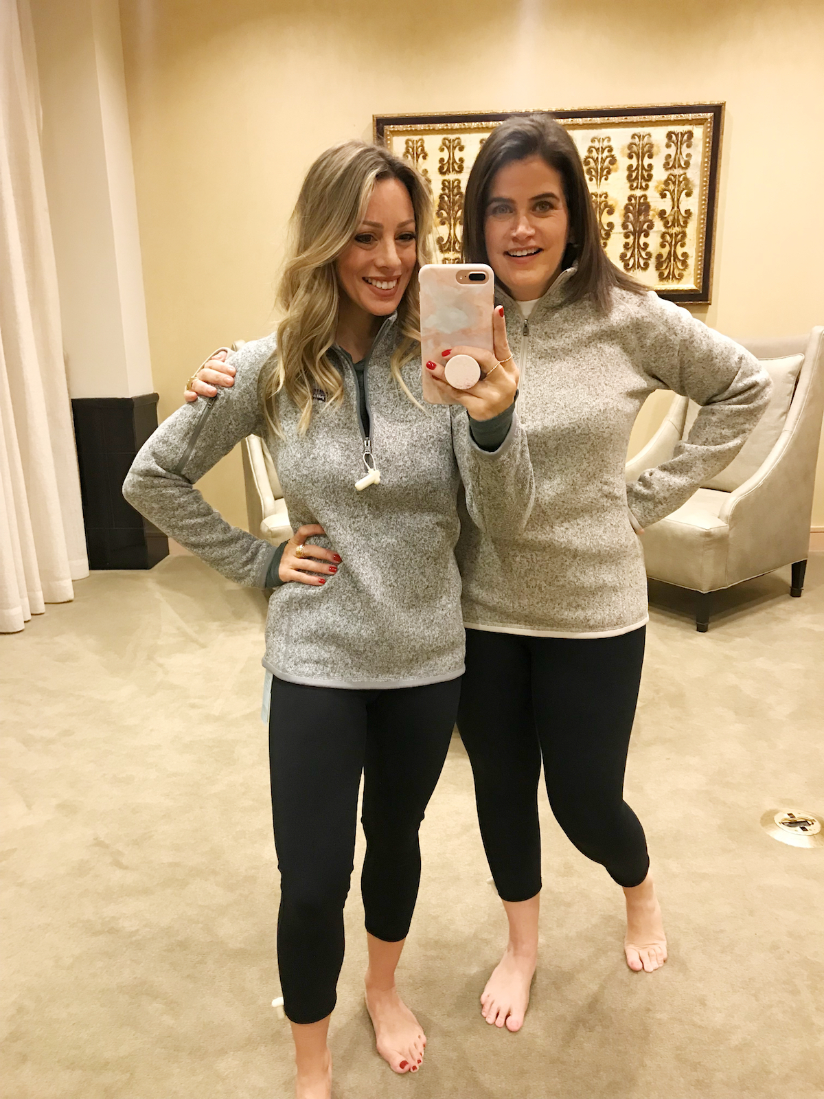 Black Friday Sales 2018 Nordstrom Zella crop leggings and Patagonia Pullover