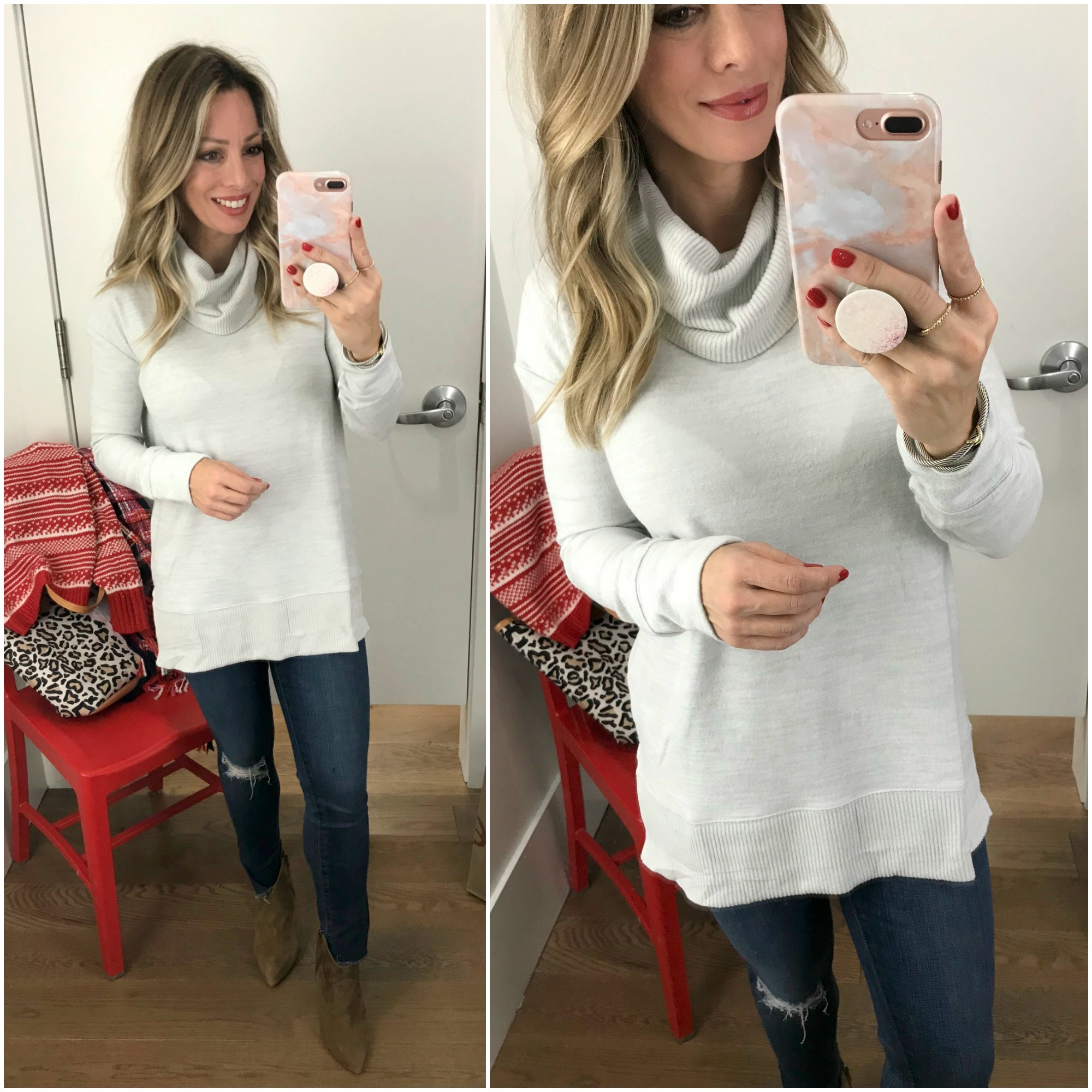 Black Friday Sales Gap Cowl Neck Sweater