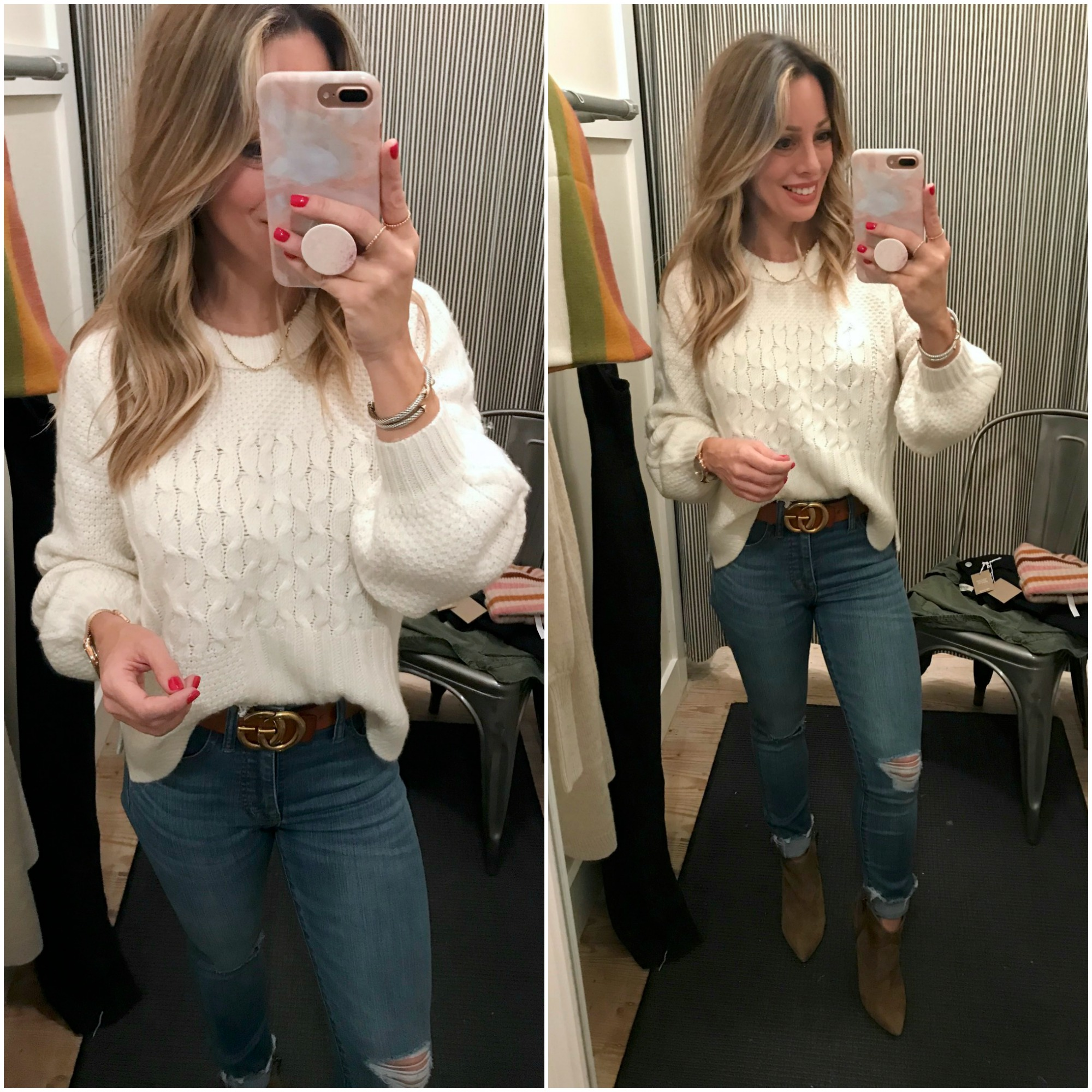 Black Friday Sales Madewell sweater and jeans
