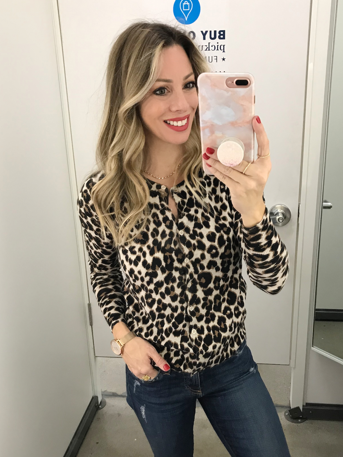 Black Friday Sales Old Navy leopard cardigan