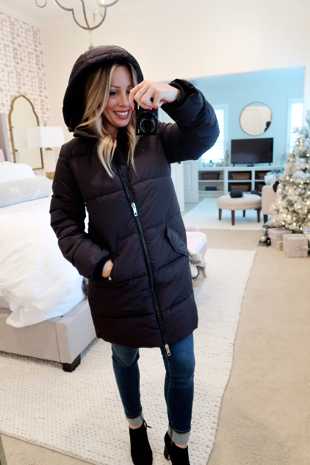 Cyber Monday Amazon Fashion Haul long puffer coat