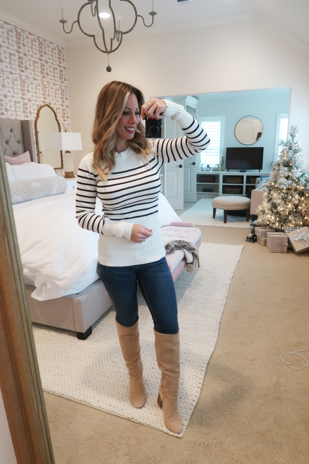 Cyber Monday Amazon Fashion Haul sweater and boots (1)