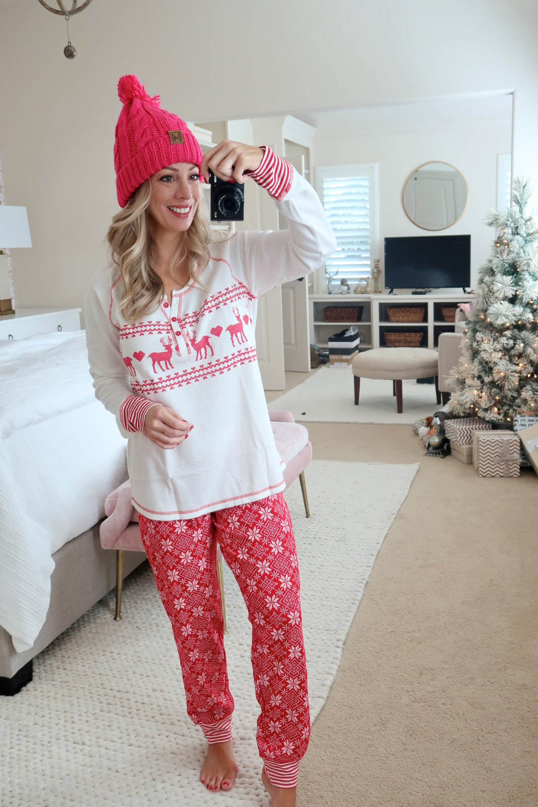 Cyber Monday Amazon women's Christmas pajamas
