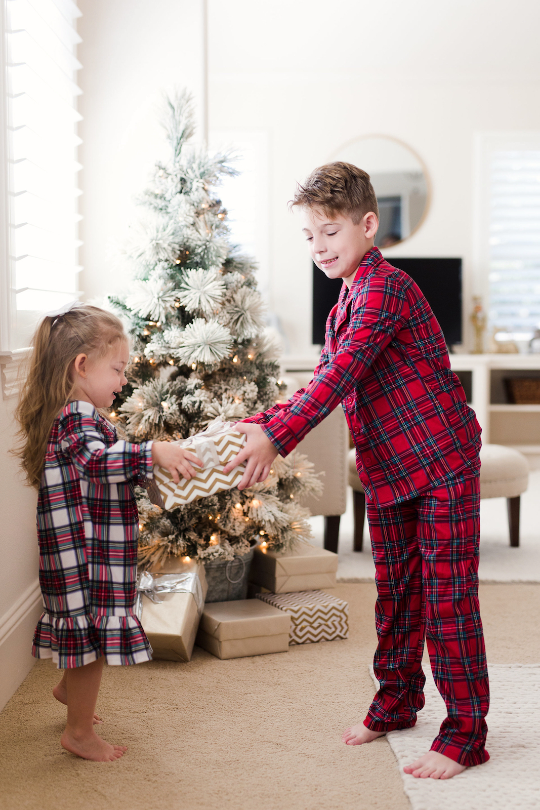 Family Christmas Pajamas Plaid