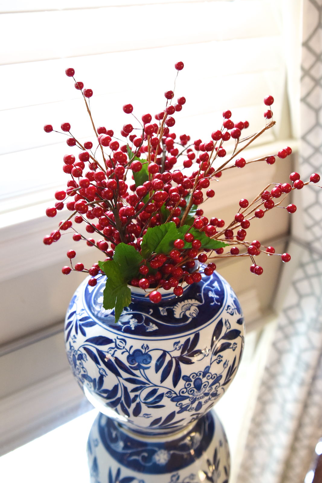 Christmas Decor - fresh berries