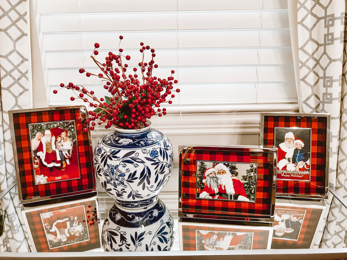 Pottery Barn Checkered Frames