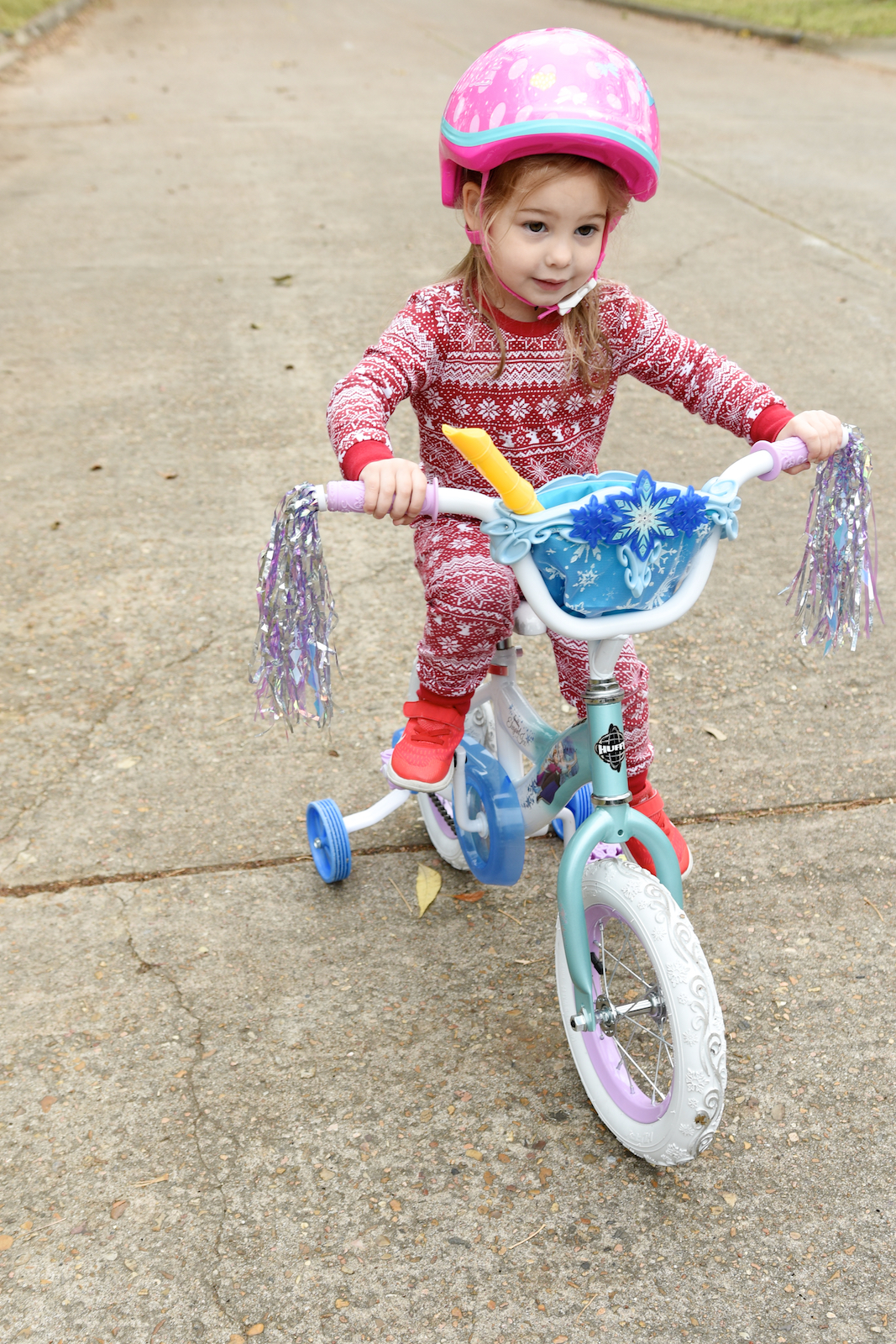Toddler Girl Frozen Bike