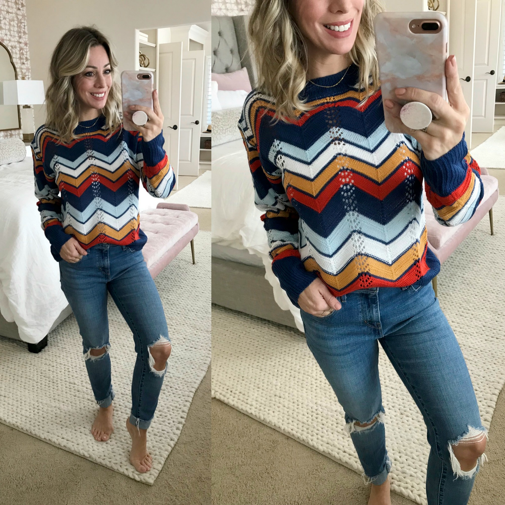 Amazon Fashion Haul - Chevron Sweater