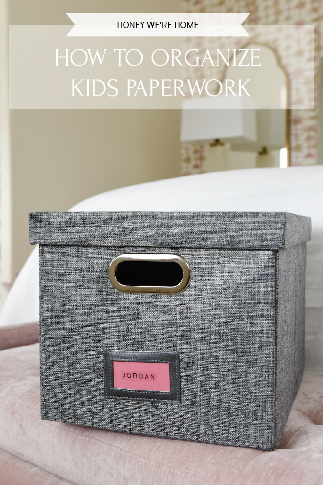 How to Organize Kids Paperwork