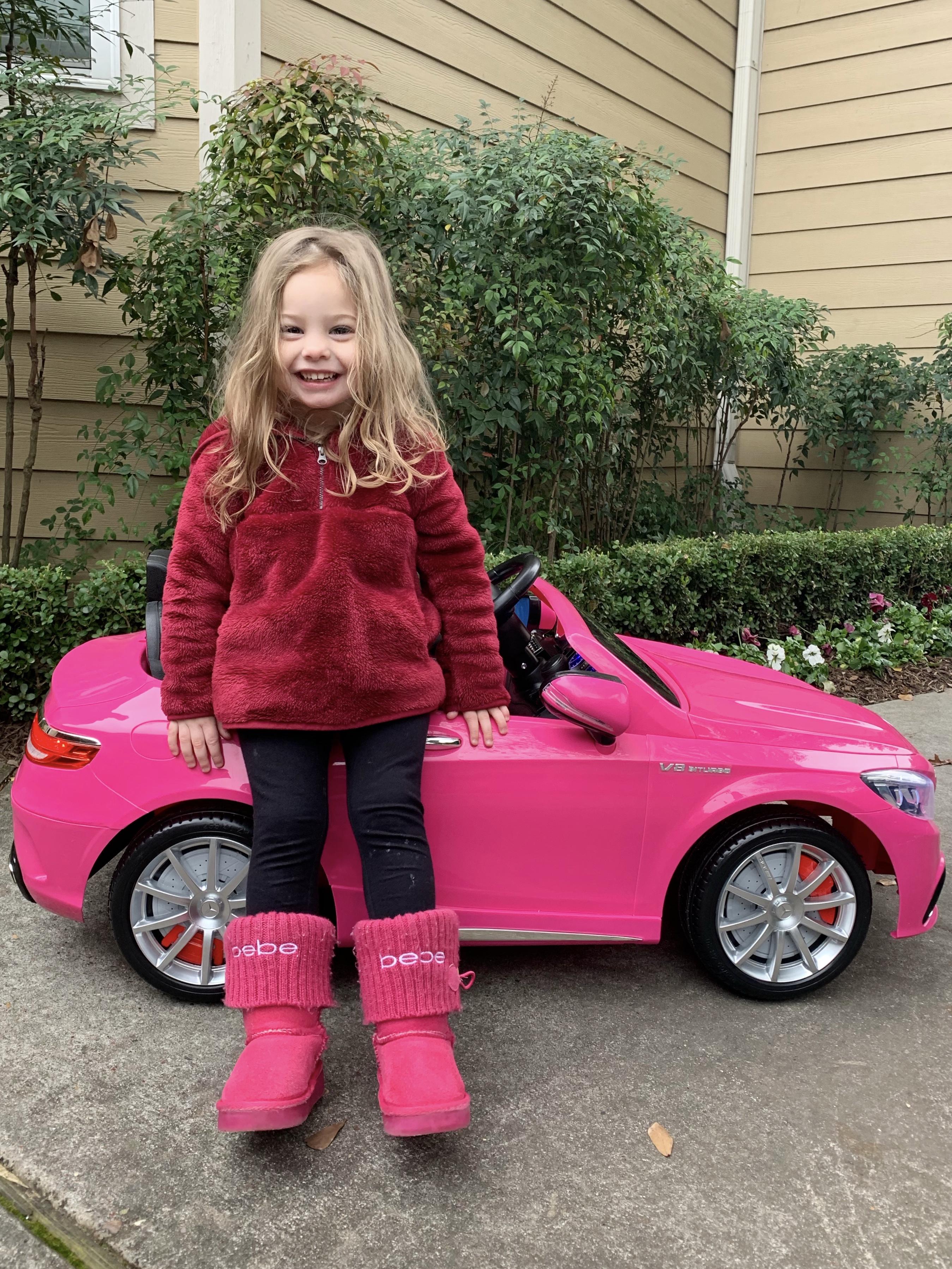Toddler motorized car