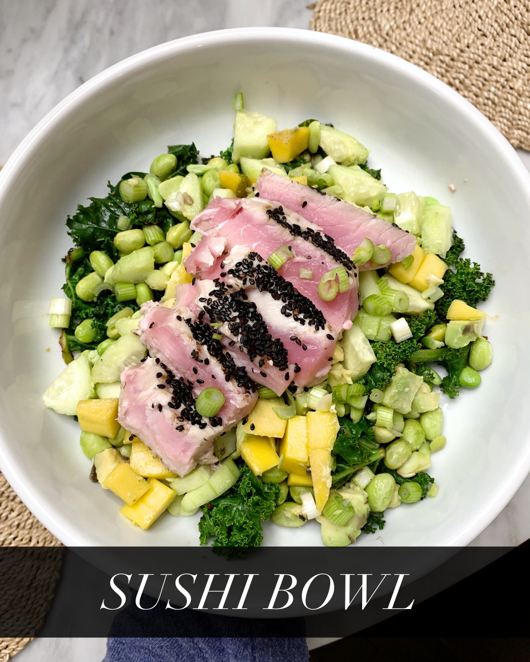 Sushi Bowl | from Get Fit Done Workout and Lifestyle Guide