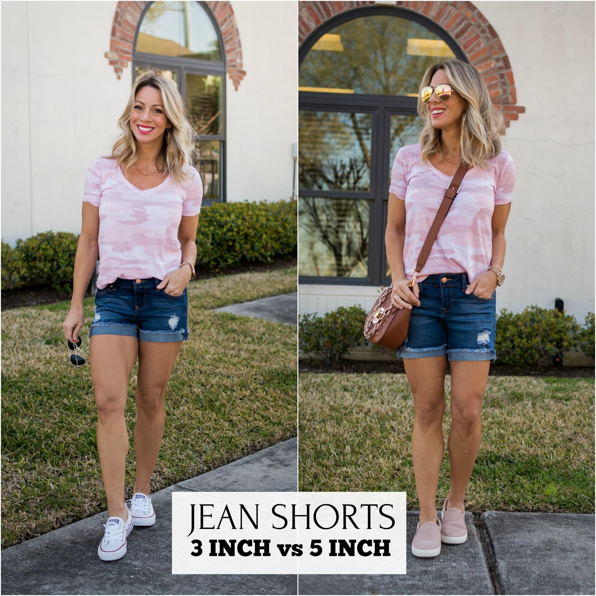 Jean Shorts 3-inch vs 5-inch