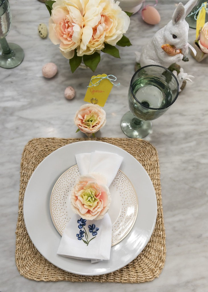 Easter Bruch Table Decor
