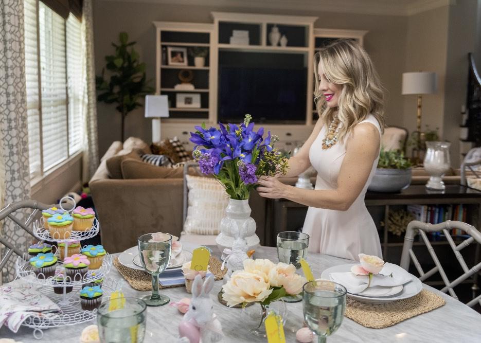 Easter Brunch Table Decor