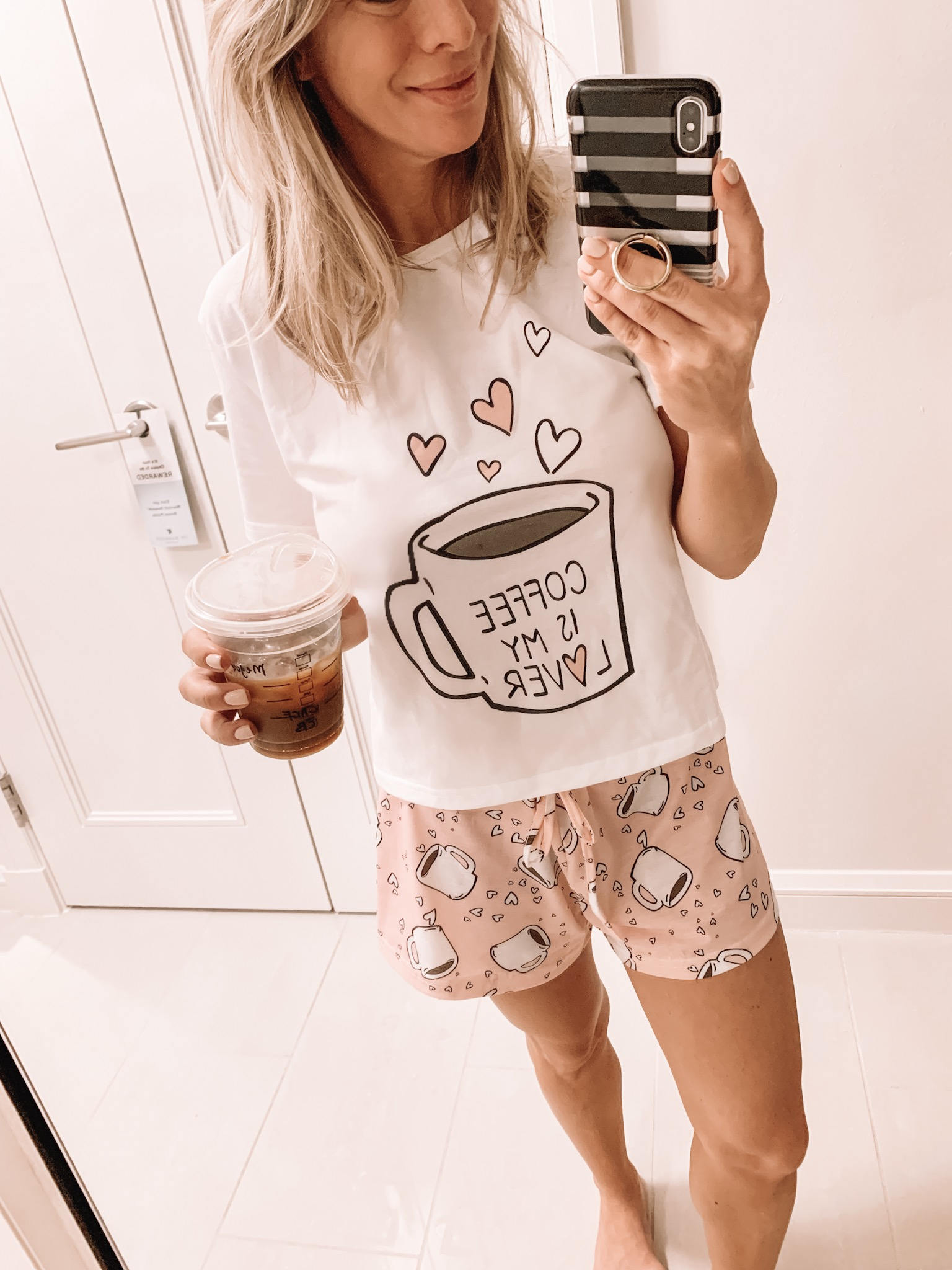 Coffee Is My Lover women's pajamas