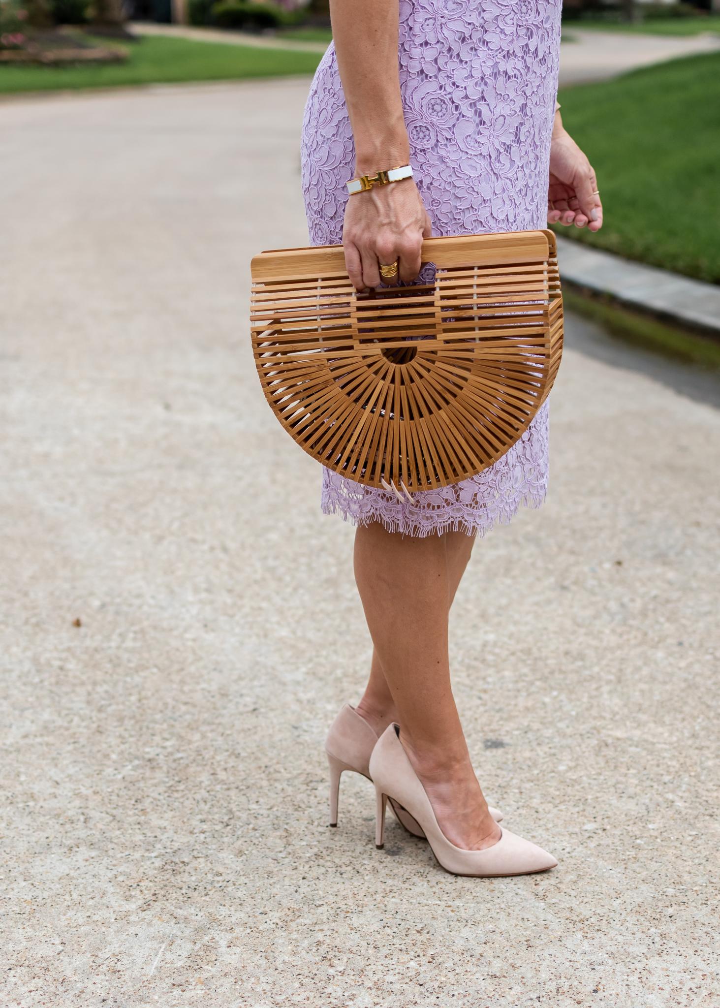 Lilac Crochet Dress