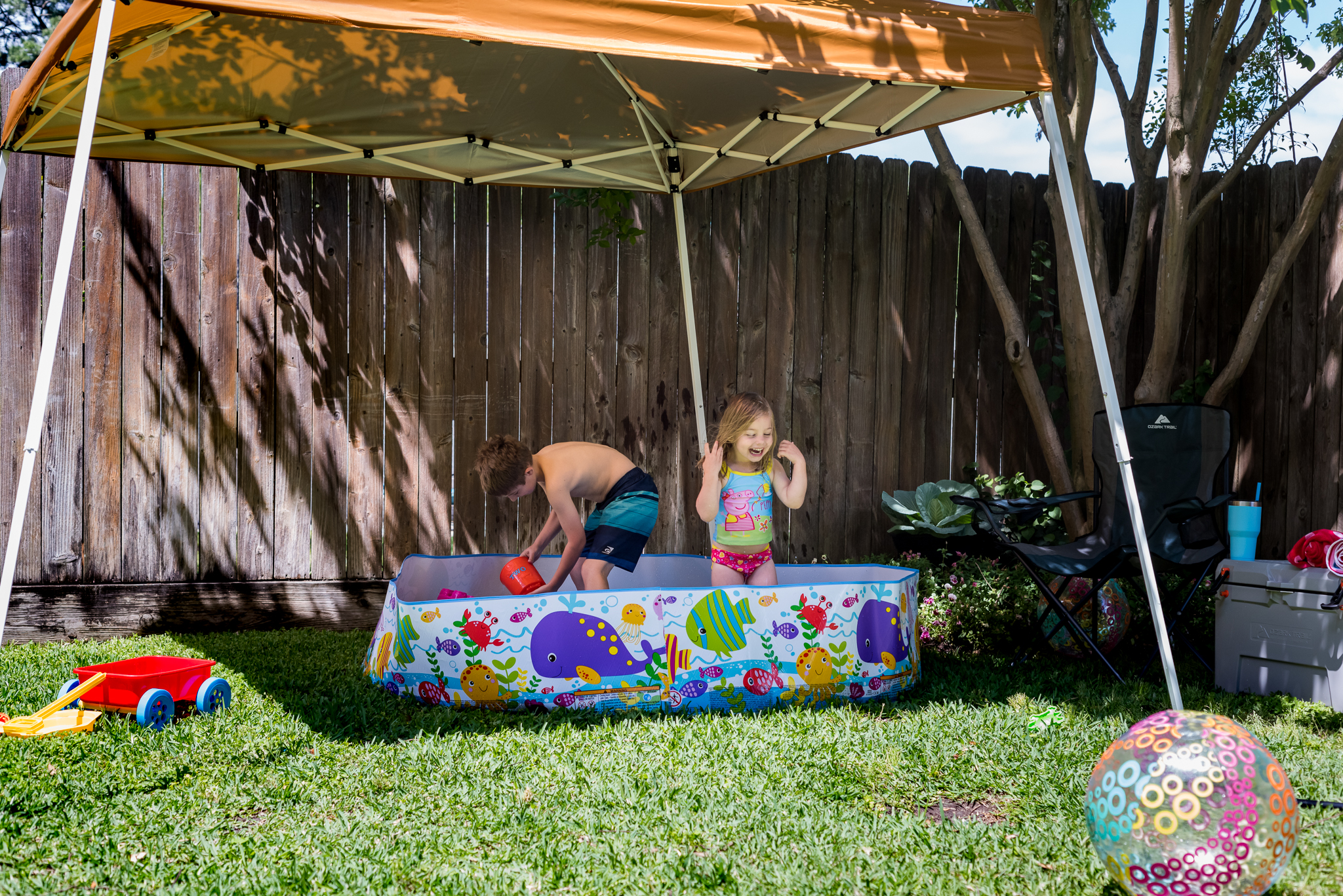 Summer backyard fun for kids