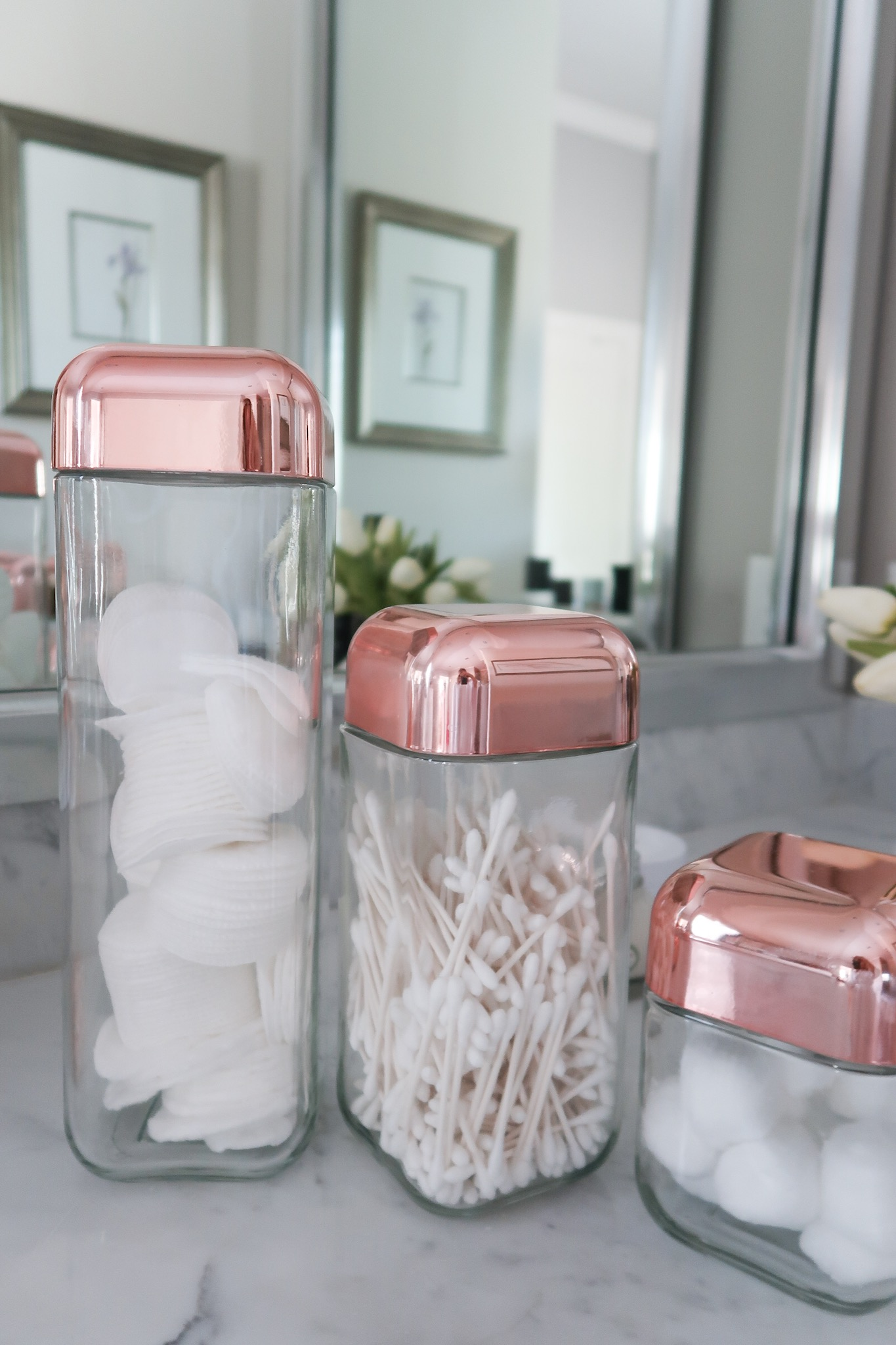 Copper top canisters