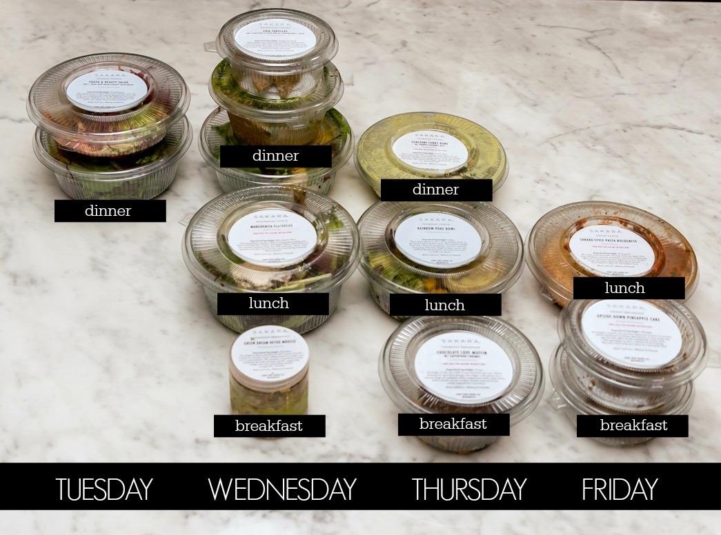 SAKARA organic plant based meals.2