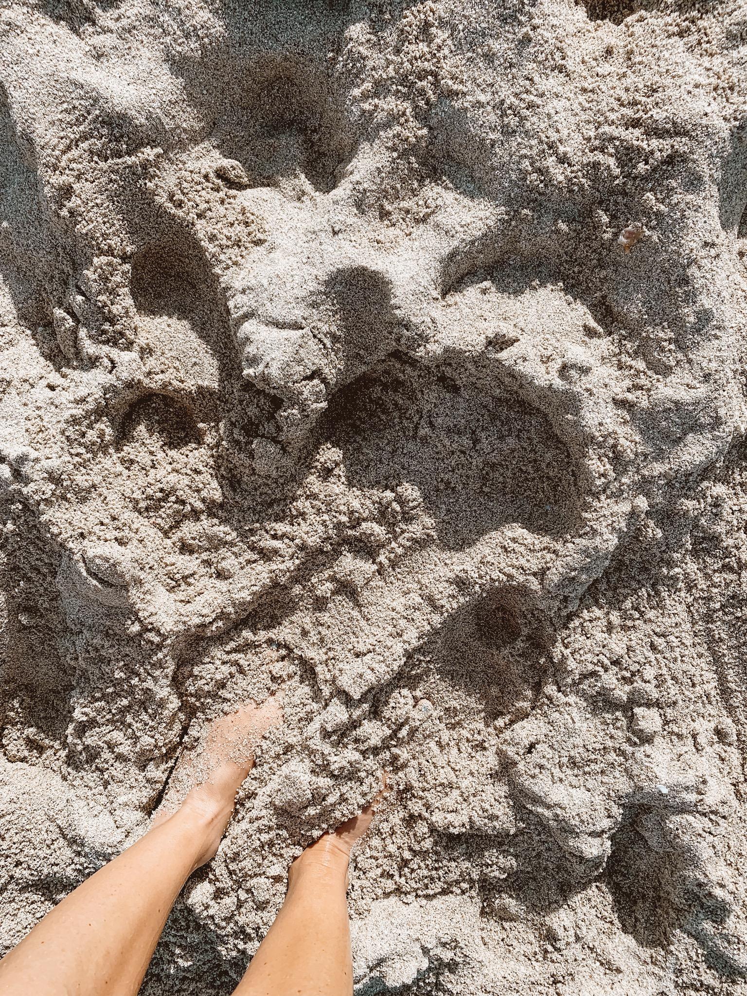 South Beach Miami Sand