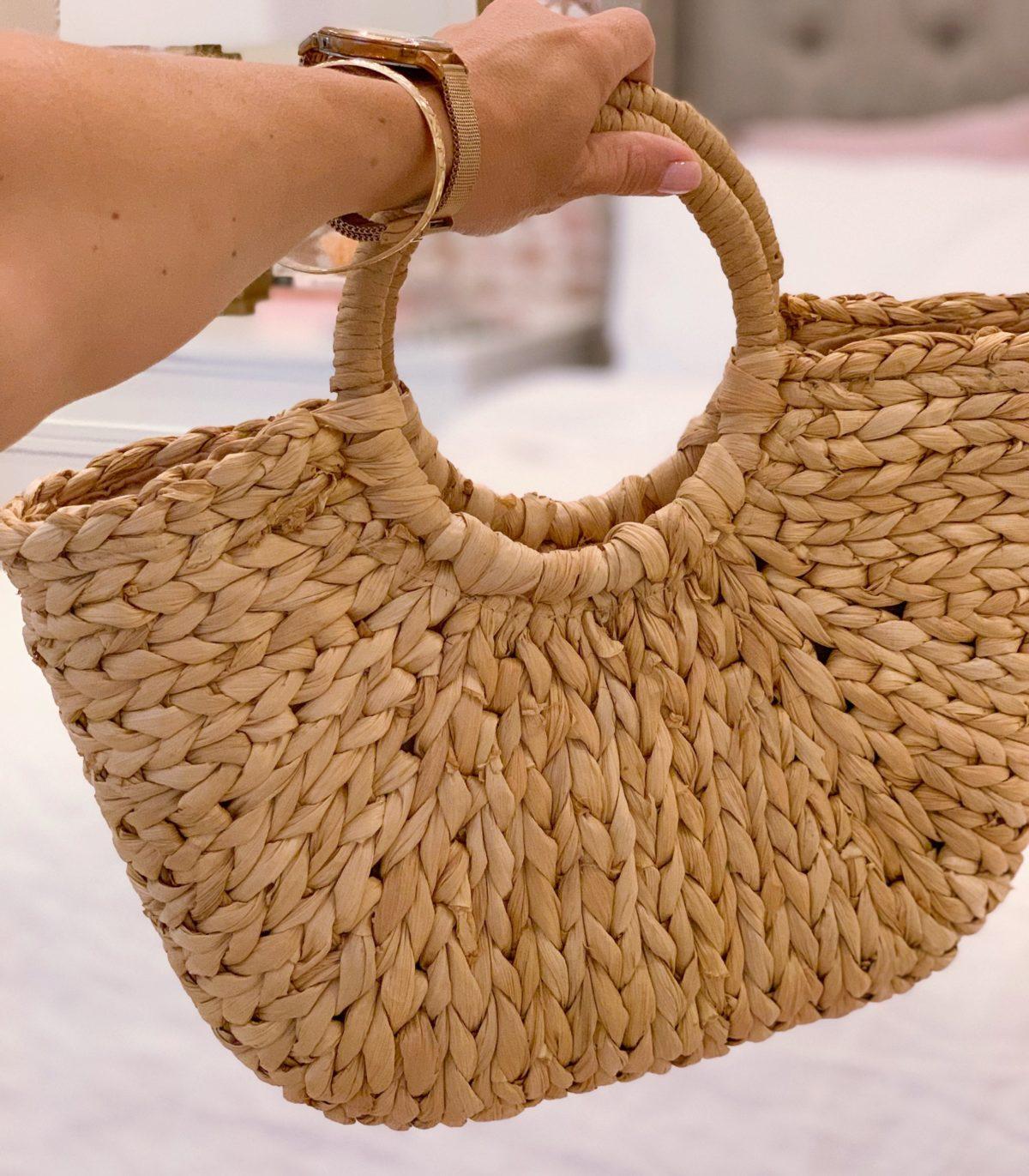 Amazon Fashion Haul Straw Beach Tote