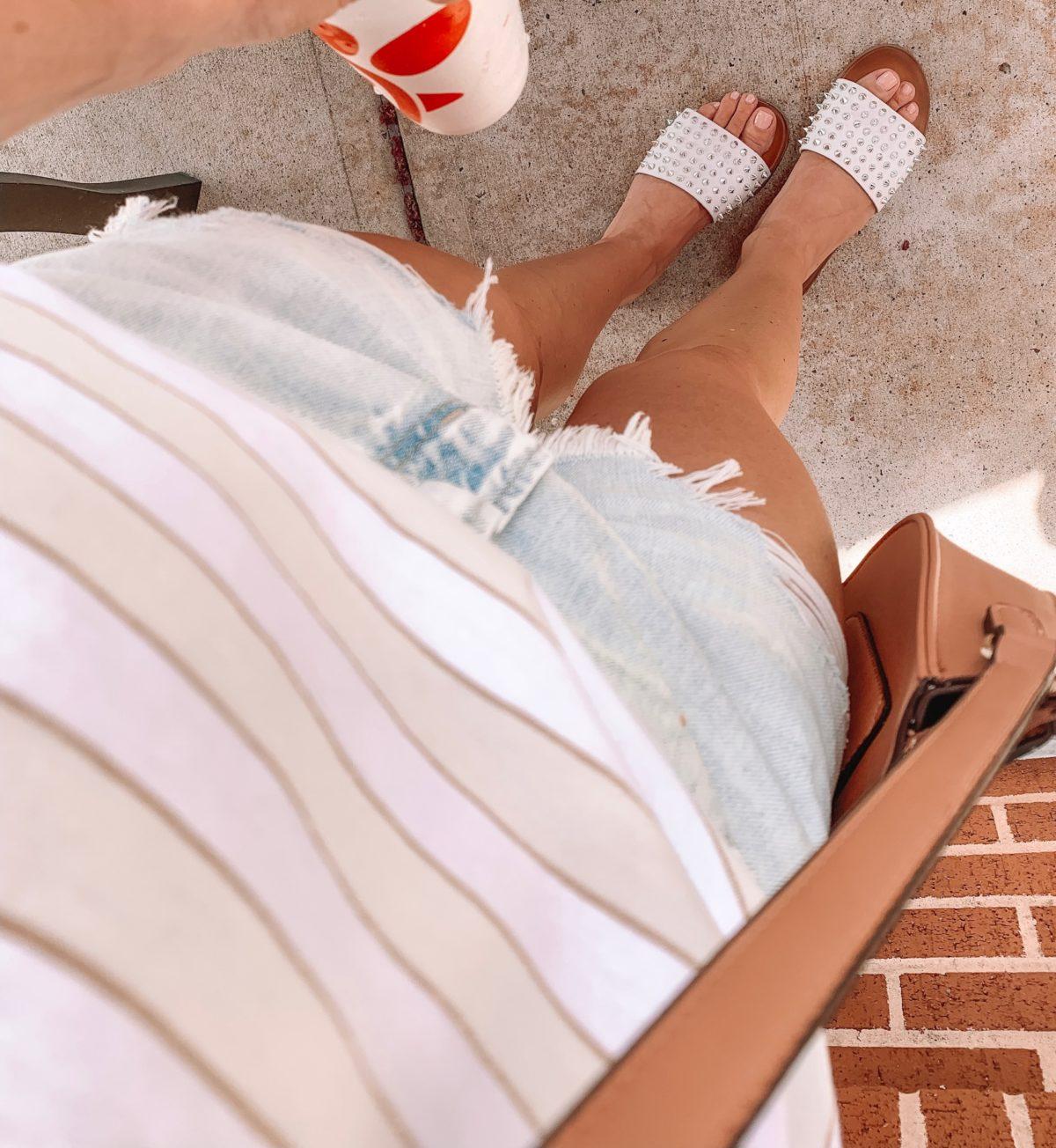 Stud Slide Sandal