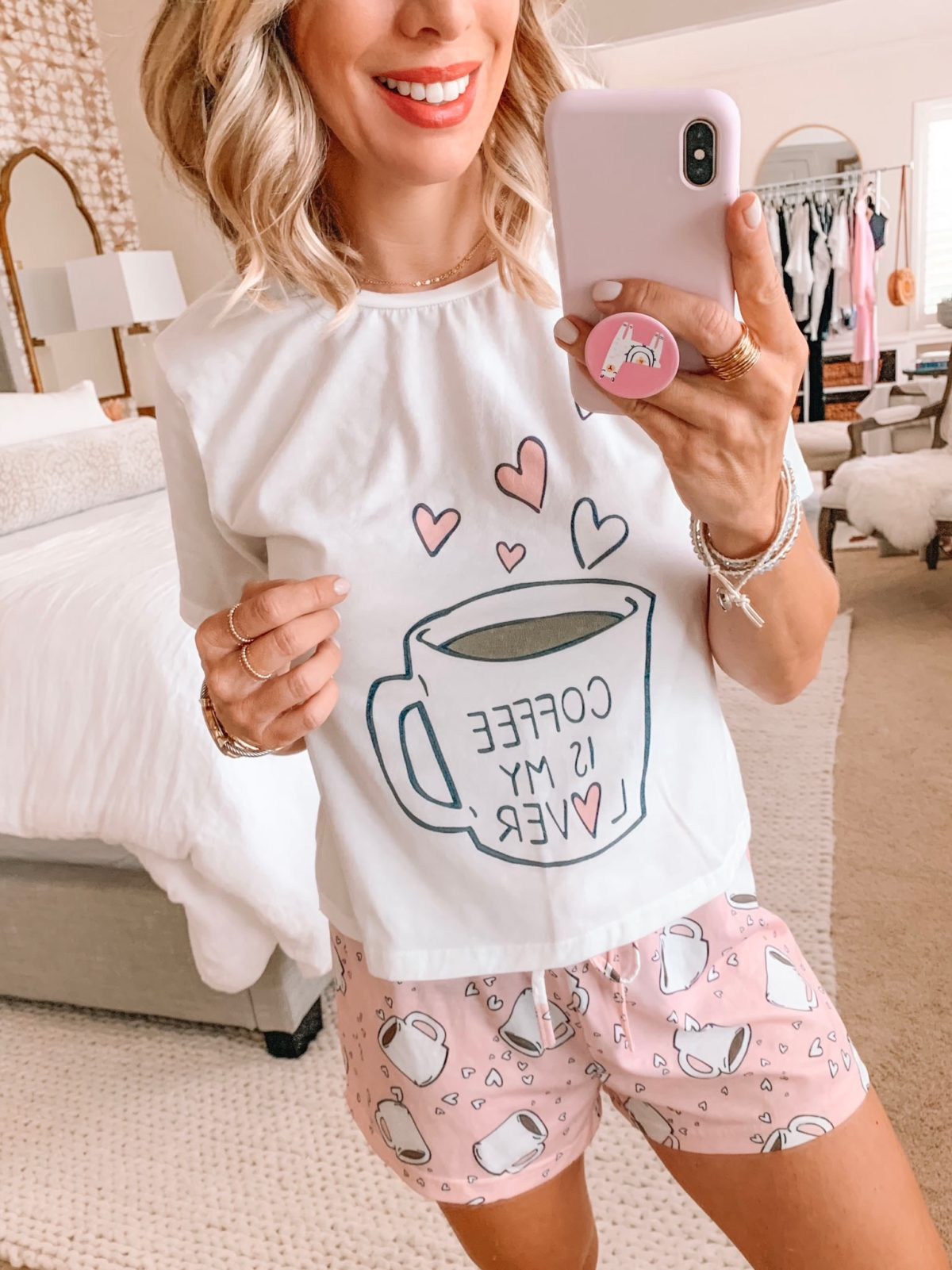 Amazon Fashion Haul - Coffee Is My Lover Pajamas