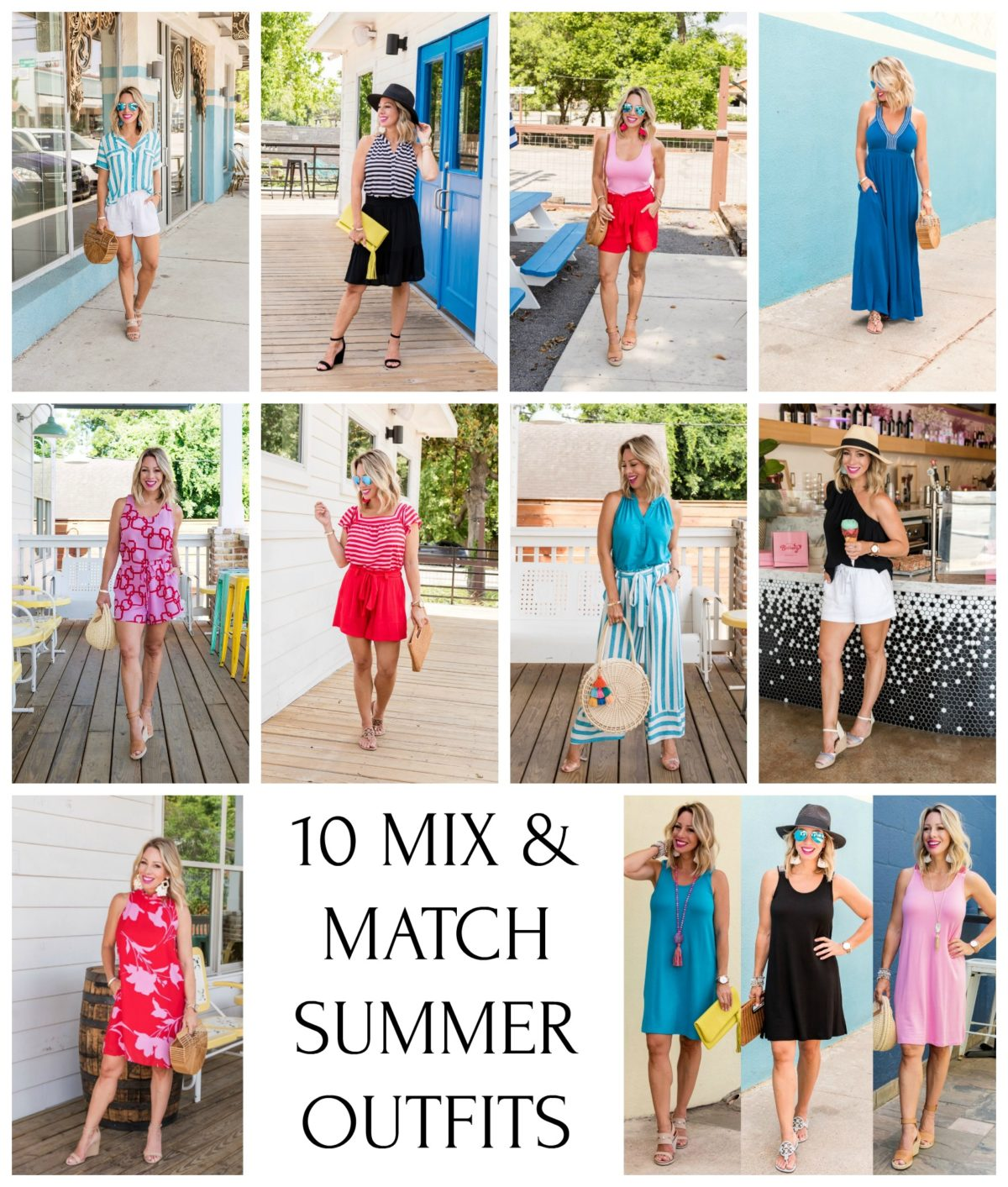 MIX & MATCH SUMMER OUTFITS