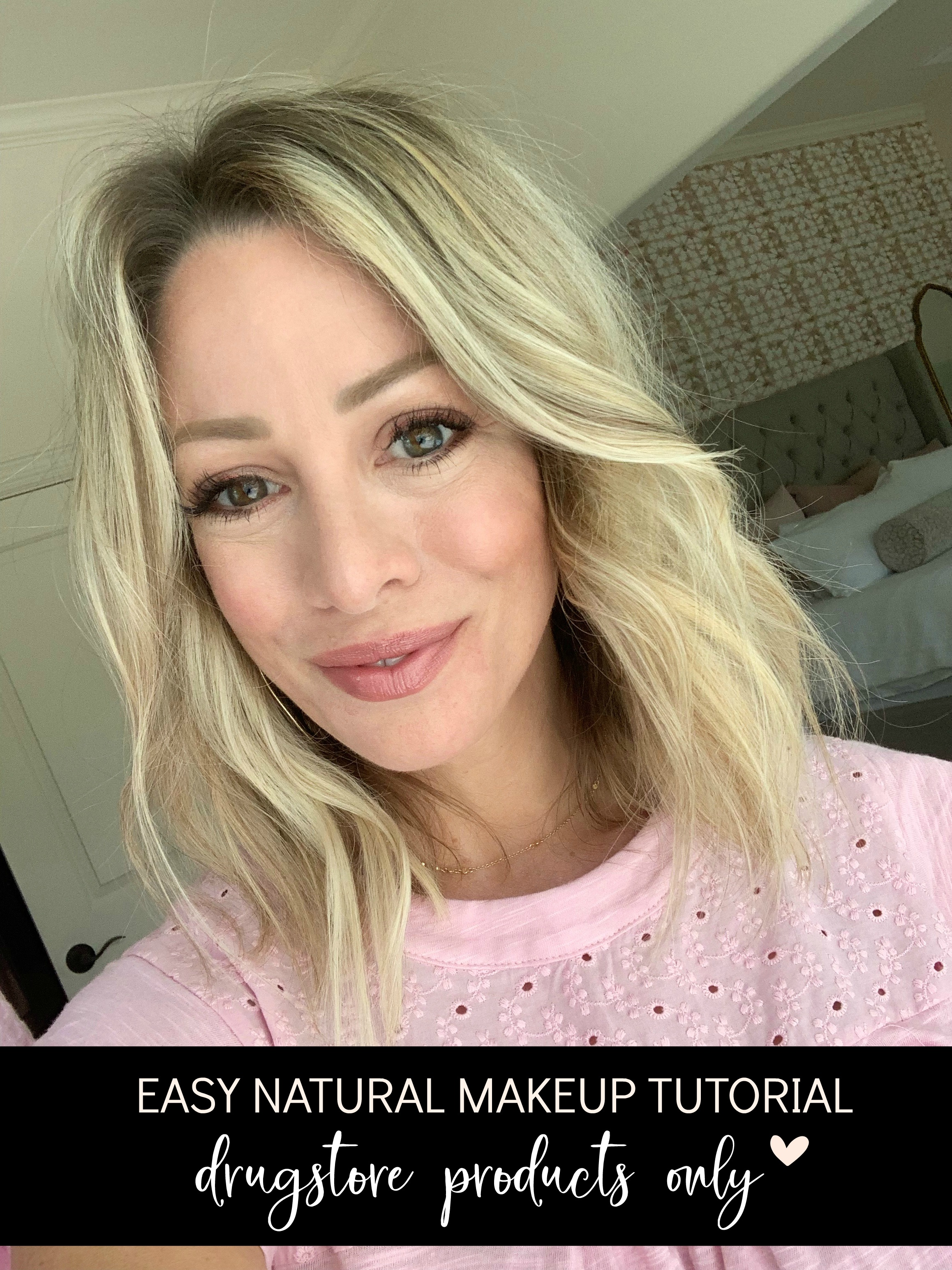 Easy Natural Makeup Tutorial  DRUGSTORE PRODUCTS ONLY  Honey We