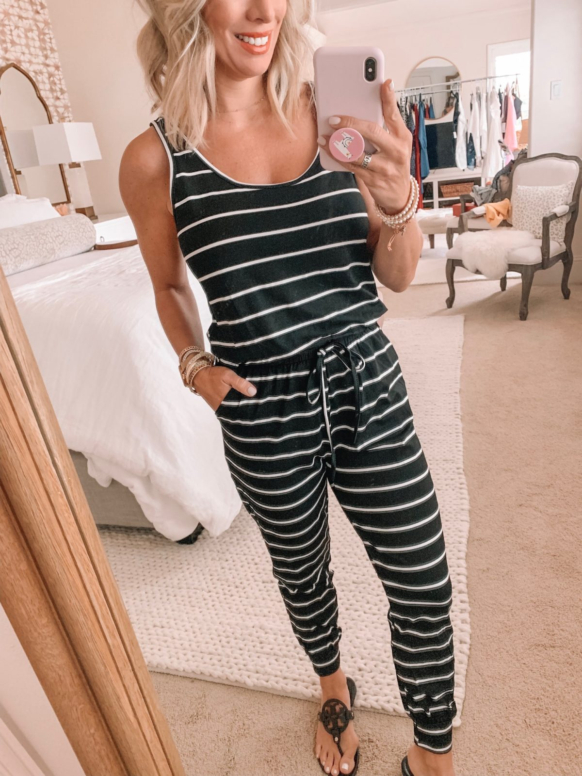 Amazon Fashion Haul - Tank Stripe Jumpsuit