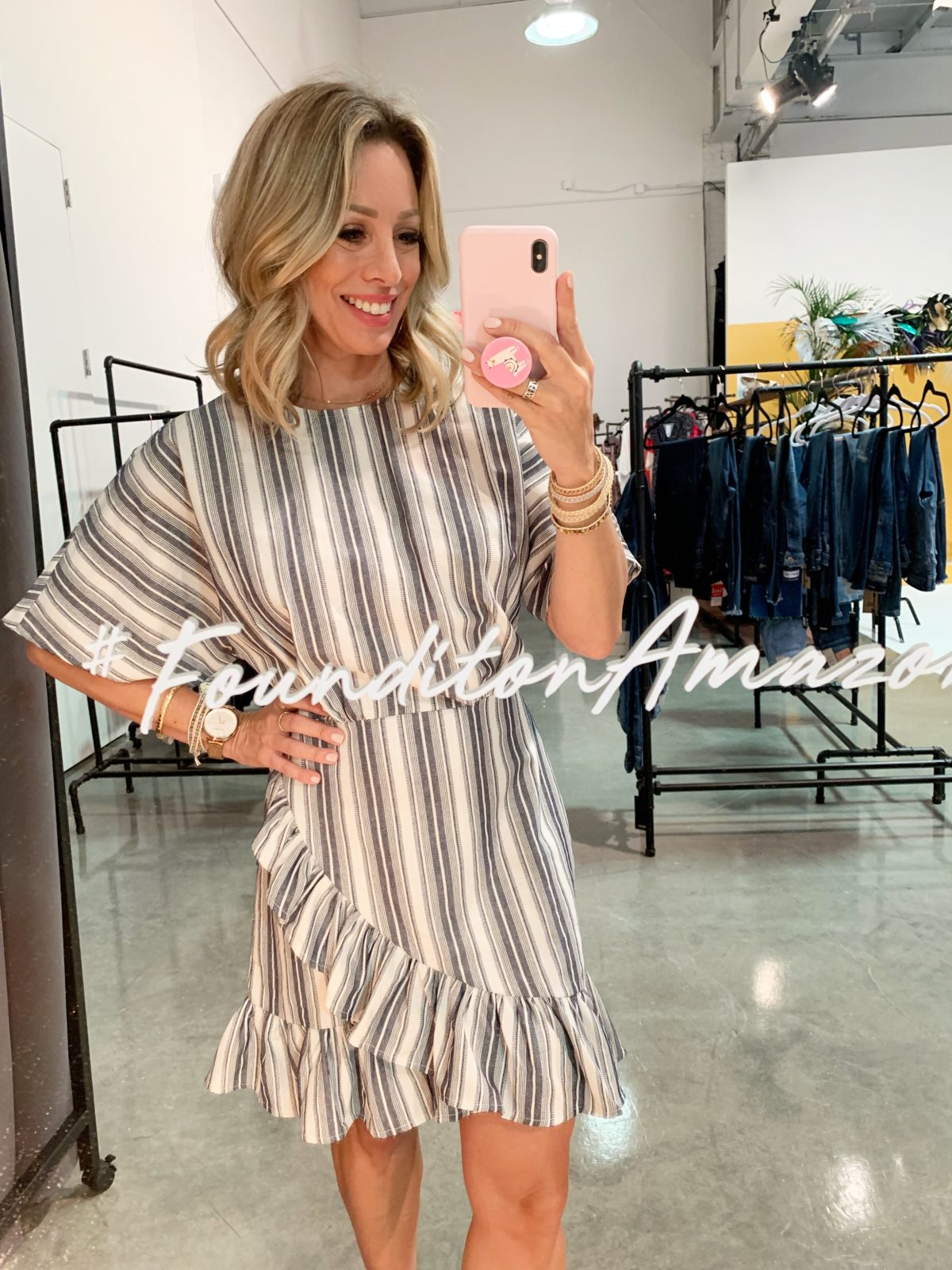 Amazon Prime Day Striped Dress