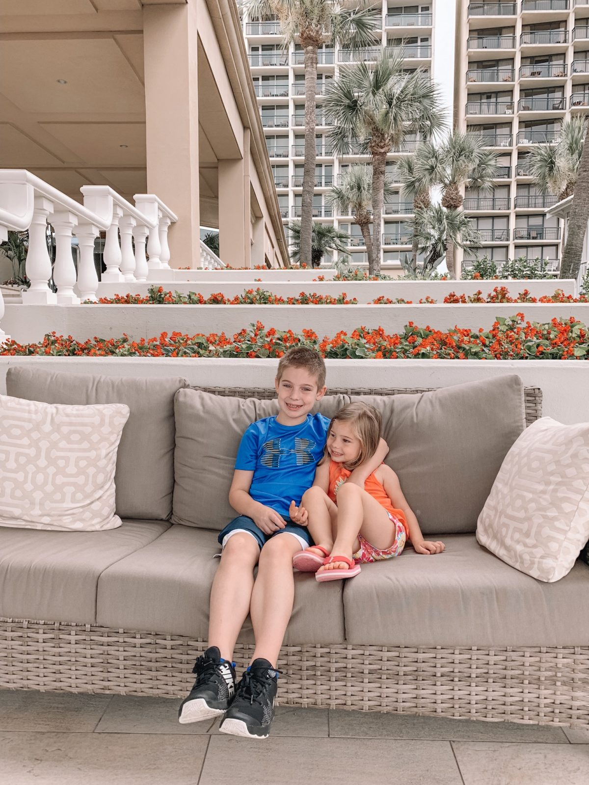 48 Hours in Galveston - Kids at the Hotel