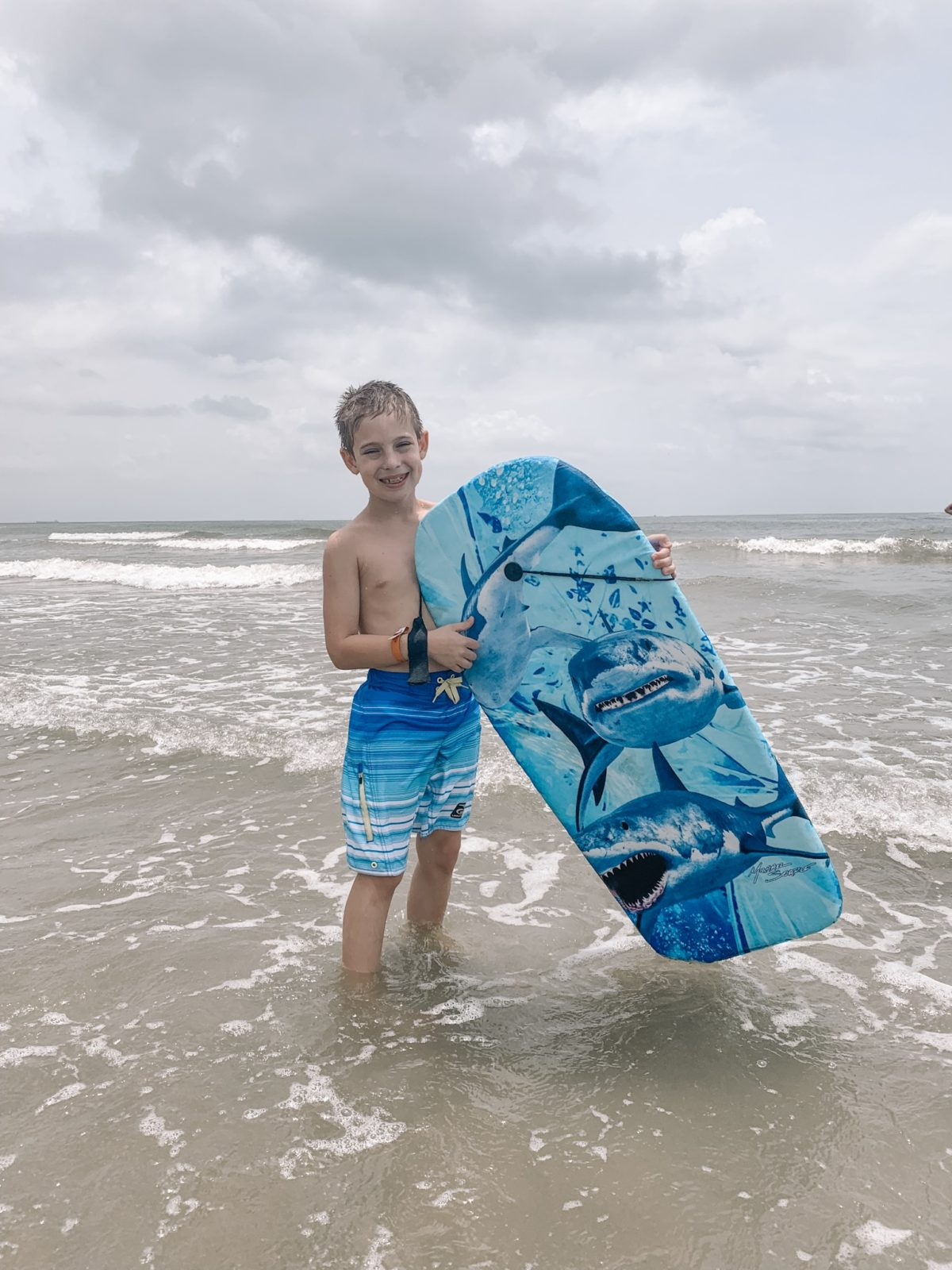 48 Hours in Galveston - boogie boarding