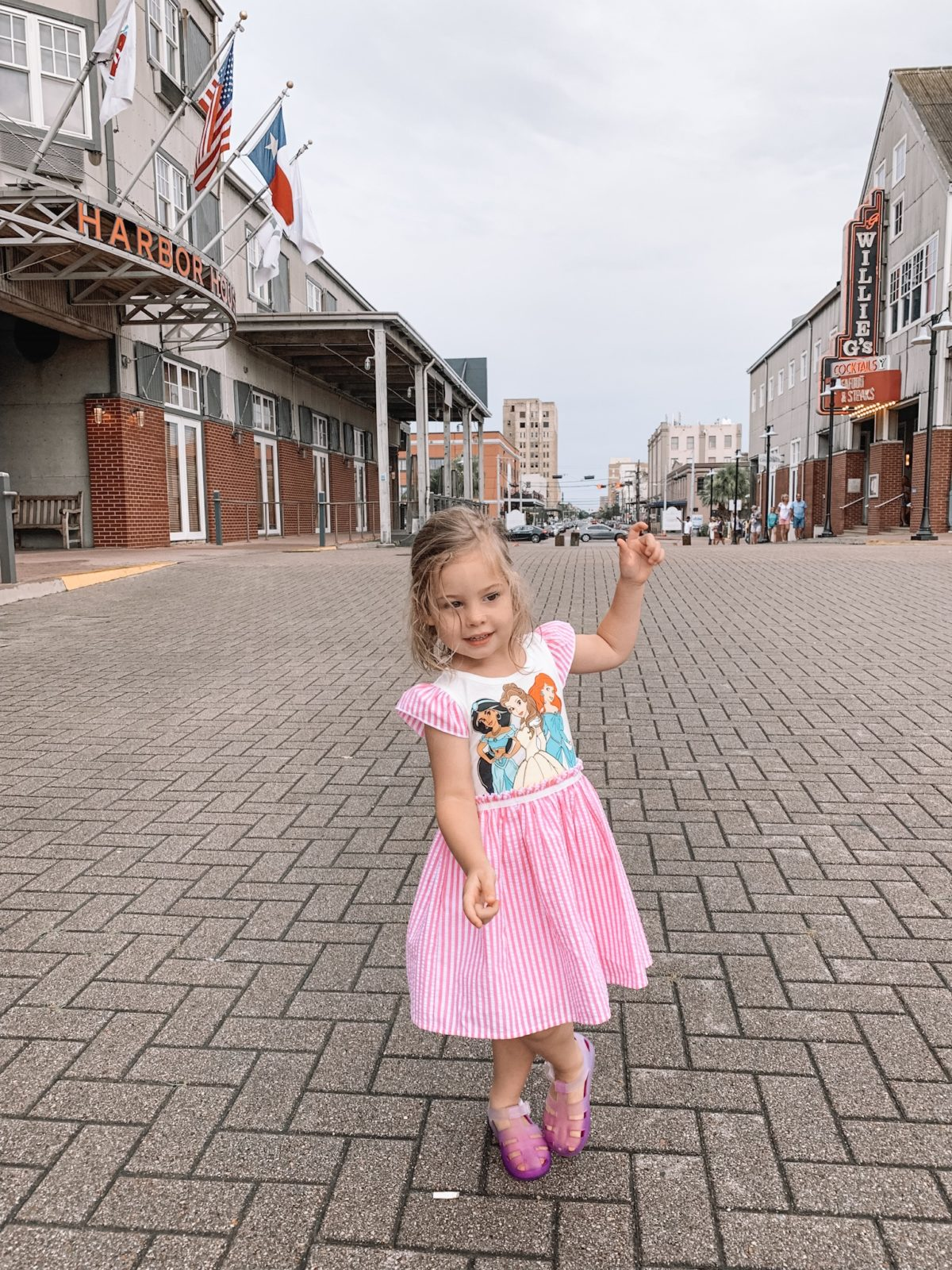 48 Hours in Galveston - Toddlers princess dress