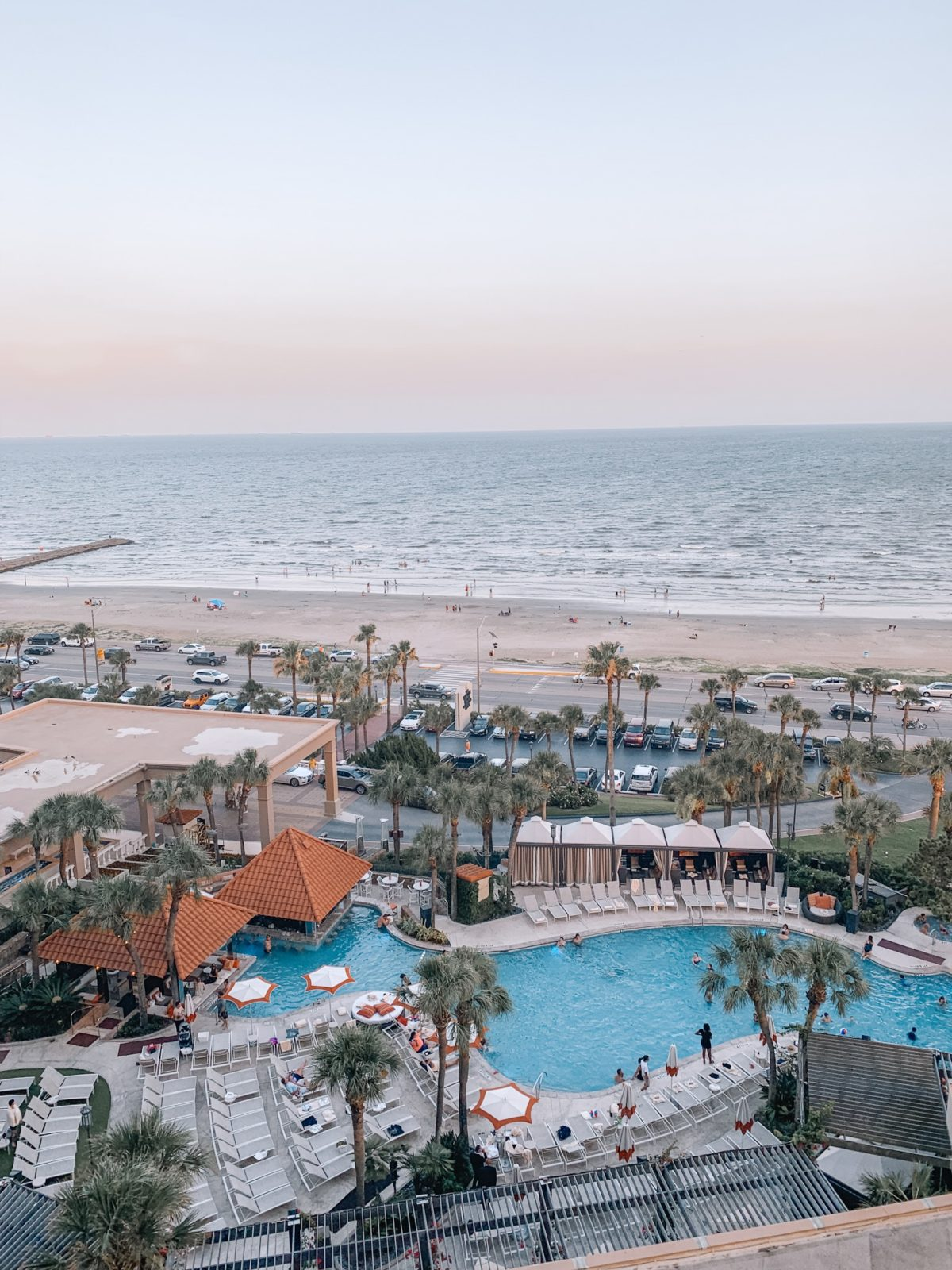 48 Hours in Galveston - Beach View